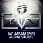 Eve (@TheRealEve) – She Bad Bad (Remix) Ft. Pusha T x Juicy J (@Pusha_T @TheRealJuicyJ)