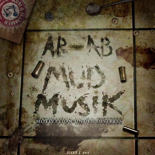 AR-AB-Mud-Musik-motivation-Under-Distress-front-cover-mixtape-artwork-philly-obh-HHS1987-2013