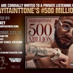 Finally Famous & SixOne7Creative (@SixOne7Creative) Present: Lord Tone (@SayITAintTone) Listening Event