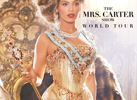 Beyonce Announces The Mrs. Carter Show World Tour