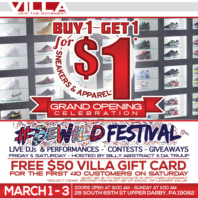 Sneaker villa coupons reading pa