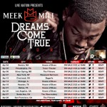 "Meek Mill Announces His ""Dreams Come True"" Tour (Tour Dates & Ticket Info Inside)"
