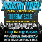 Schweinbeck & Dezztheace Present: Industry Mixer (KSU Version) (Hosted By @FortKnoxLive) & (@DJ_LadyB)