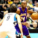 Kobe Goes Down The Lane For A Big Time Dunk Against Minnesota (Video)