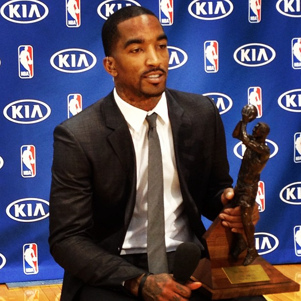 JR-Smith-Sixth-Man-of-the-Year New York Knicks Guard J.R. Smith Named NBA Sixth Man Of The Year Award