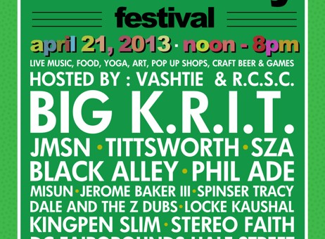 Broccoli City Festival on Sunday, April 21 at DC Fairgrounds, Hosted by Va$htie
