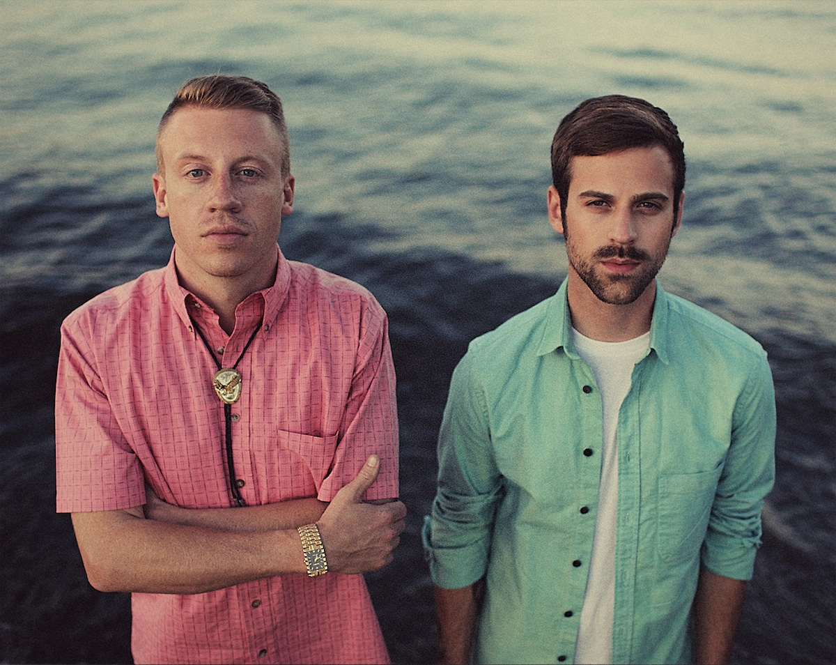 "Macklemore & Ryan Lewis ""Can't Hold Us"" Goes Platinum"