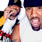 Method Man (@methodman) shows Redman (@therealredman) some brotherly love in Colorado!