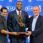 Miami Heat Forward Lebron James NBA MVP Award Presentation (Video)