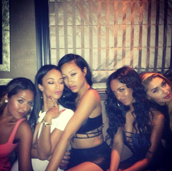 182961 Celebrities Take Over L.A. After BET Awards 2013