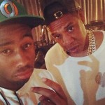 Jay Z & Tyler The Creator At Yankee Stadium (Photo)