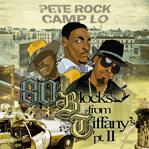 Pete Rock 80 Blocks From Tiffanys Pt 2 front large Pete Rock   80 Blocks From Tiffanys Pt. 2 (Mixtape)