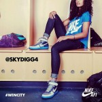 Skylar Diggins Becomes The Spokeswomen For Nike Air Force 1 Downtown