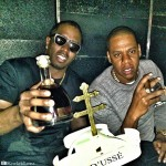D'USSE Boys: Jay Z & Diddy Party & Sip D'USSE In Los Angeles (Photo)
