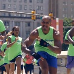 ForeverFit Inc – FitnessFlashMob at Love Park (Philly) (Video)