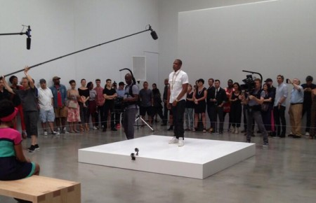 jay-pace-450x290 Jay-Z Filming The Visual For Piscasso Baby At The Pace Art Gallery In NYC  (Video)