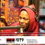 Kendrick Lamar – The Rickey Smiley Show Freestyle (Video)