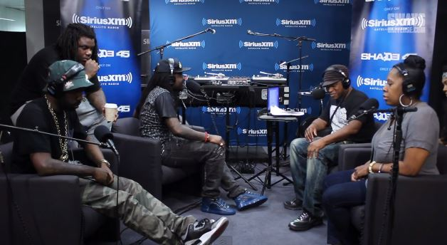 "wale Wale Performs ""Love Hate Thing"" on Sway In The Morning's Live (Video)"