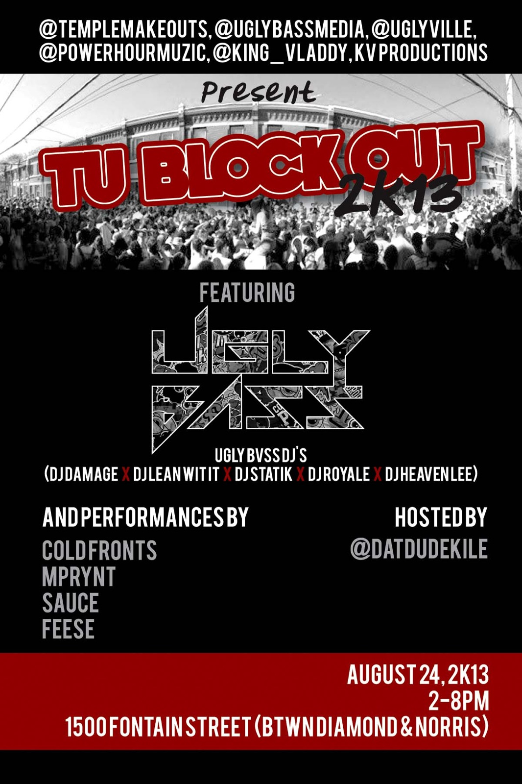 2013 Welcome Back Block Party (Teaser)