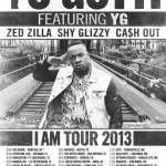 "Yo Gotti Announces ""I Am"" Tour Dates With Ca$h Out, Zed Zilla, Shy Glizzy & YG"
