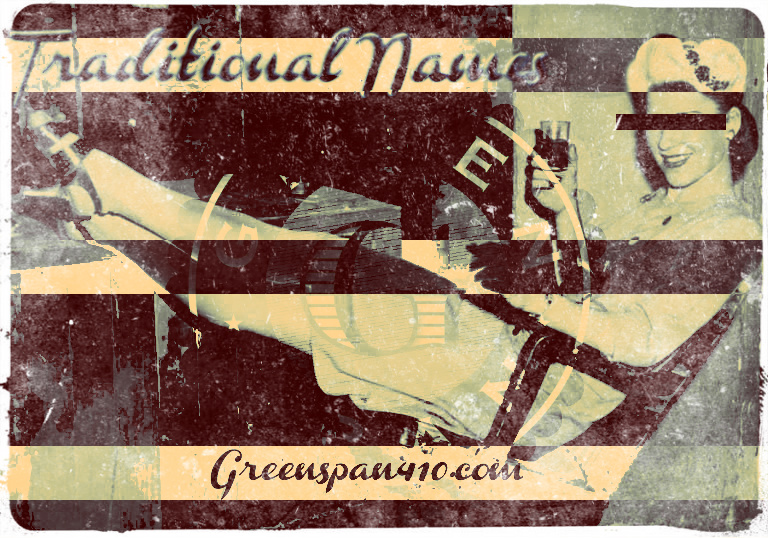 Traditional-Names-Art Greenspan - Traditional Names (Prod. by Carvo Music)