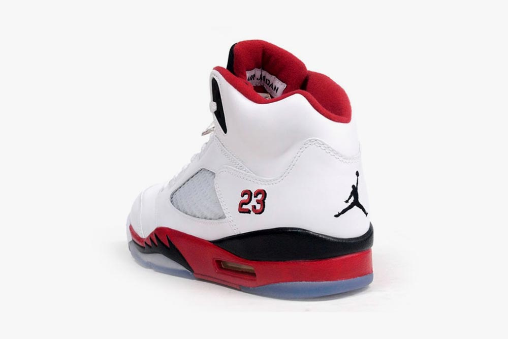 size 40 ce192 ab0fd Air Jordan 5 – Fire Red (Release Today) (Photos) | Home of ...