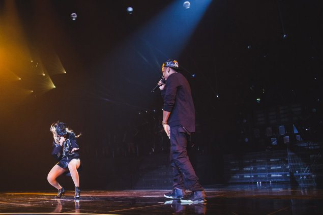 bj4 Beyonce Brings Out Jay Z To Perform Tom Ford At The Barclays Center (Video)