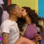 Tyra Banks & Bow Wow Kiss Live On BET's 106 & Park (Video)