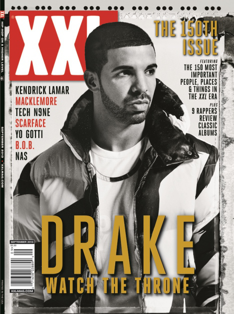 drake-xxl-cover Drake Covers XXL's 150th Issue (September 2013)
