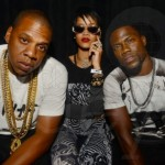 Kevin Hart Parties Roc Nation Style With Jay Z, Rihanna, & Timbaland In Miami (Photo)
