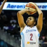 Atlanta Dream Guard Alex Bentley Named to the WNBA All-Rookie Team