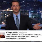 Jimmy Kimmel Responds To Kanye West's Twitter Rant Sparked By His Kids Spoof Zane Lowe Interview (Video)
