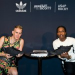 ASAP Rocky & Jeremy Scott Launch Adidas Black Flag Sneaker In NYC (Photos) & (Video)
