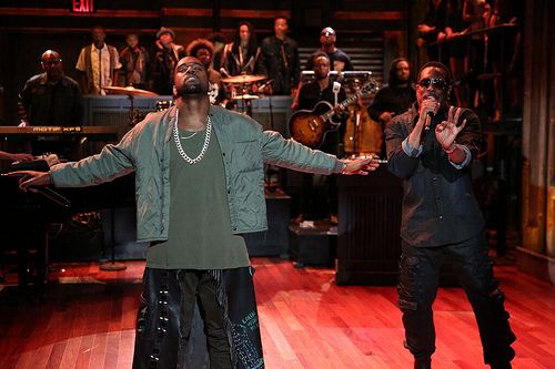 Kanye_Fallon Kanye West & Charlie Wilson – Bound 2 Live w/ The Roots On Jimmy Fallon (Video)