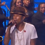 "Pharrell Performs ""Happy"" on the Queen Latifah Show (Video)"