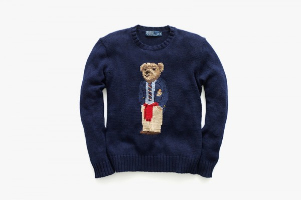 RLbearSoJones Ralph Lauren Resurrects It's Vintage Polo Bear Sweater