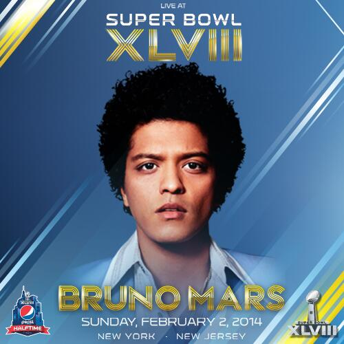bruno-mars Bruno Mars Set To Perform At Halftime Of Super Bowl XLVIII (Video)