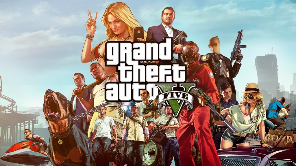 grand theft auto v wallp 2013 1024x576 Grand Theft Auto 5 Grossed Over $800 Million In 24 Hours