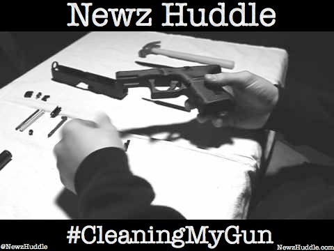 image5 Newz Huddle - Cleaning My Gun