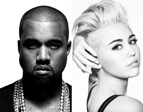 kanye-west-and-miley-cyrus-record-black-skinhead-remix Mike WiLL Confirms Miley Cyrus Will Be On Kanye's Black Skinhead Remix (Video)