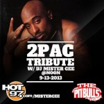 Mister Cee – 2pac Tribute 2013 (60min+ Mix)