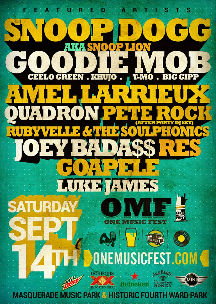omf-all-artist-729x1024 One Music Fest Takes Over Atlanta This Saturday (Video)