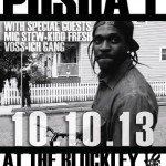 Pusha T Performs Live at The Blockley Thursday October 10th
