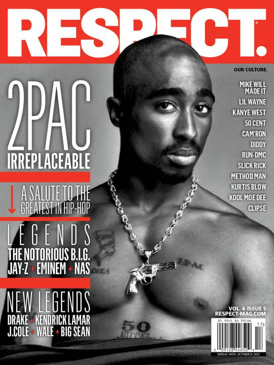 res_17_cover_8-5 2Pac Covers RESPECT Magazine's 2013 Fall Issue (Photo)