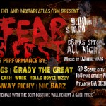 DDB Entertainment & Mixtape Atlas Present: Fear Fest (Oct. 31, 2013)