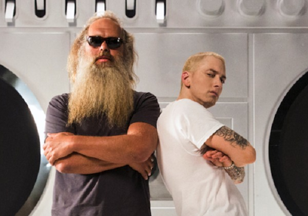 Eminem-Rick-Rubin Eminem Speaks On MMLP2, Influence Of Rick Rubin