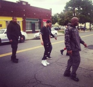 image14 Drake Heads To Memphis For Worst Behavior Video Shoot (Photos)