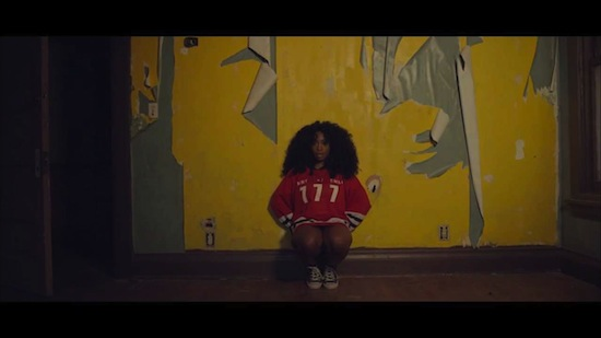 szahhs1987 SZA – Teen Spirit (Video)