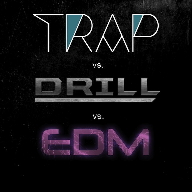 trap Trap vs. Drill vs. EDM - AaraabMuzik Ft. Young Chop & Kino Beats (Instrumental Album)