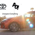 Ashley Outrageous For 2014 Toyota Corolla #UnexpectEverything Campaign (Video)